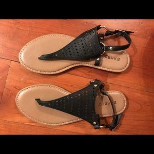 Black sandals- never worn.